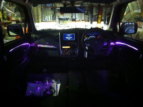 スズキ ワゴンR スティングレー 室内LED