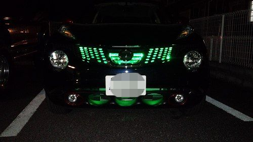 ジューク Fグリル LED