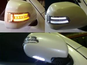 ハイエース200系 LEDウインカーミラー