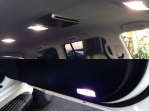 ランクル200 ルームランプ、カーテシLED