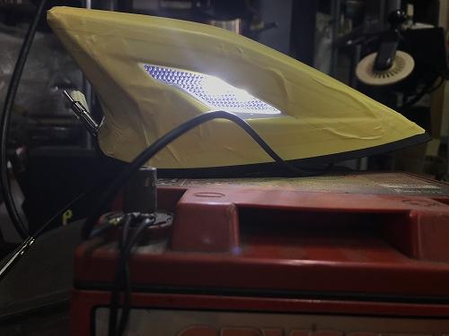 ハリアー60 LEDトップノットアンテナ
