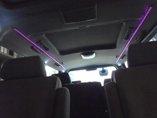 エルグランドE50 室内LED