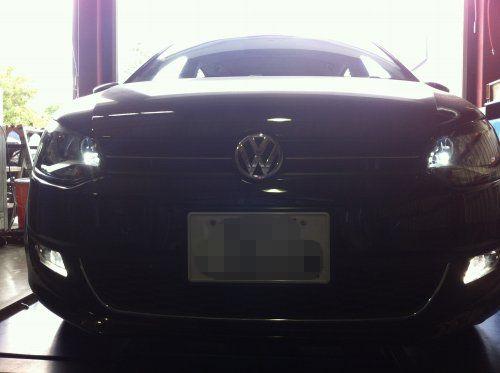 VW POLO LEDポジションバルブ