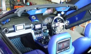 S15 シルビア フルモニターフルーディオ4