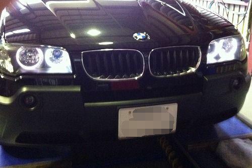 BMW X3 CCFLリング